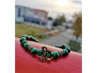 Inspirace: Náramek Antique green