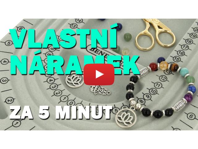 Videonávod: Jak si vyrobit vlastní náramek za 5 minut