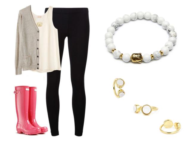 Outfit: Připravena do deště