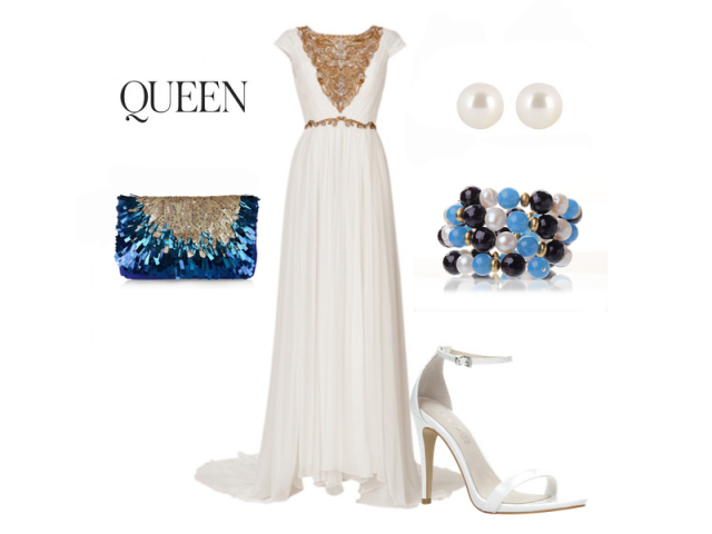 Outfit: Perlová královna