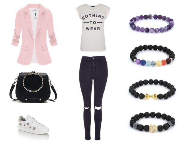 Outfit: Elegance s teniskama