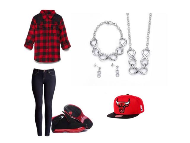 """Outfit: Sportovní """"street style"""""""