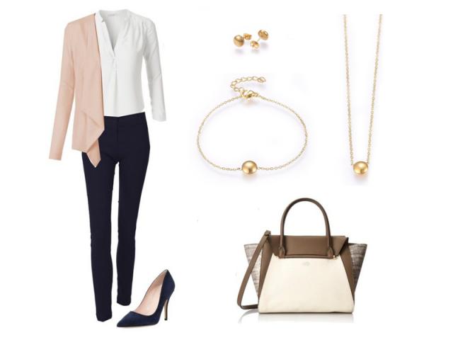 Outfit: Pracovní pohovor