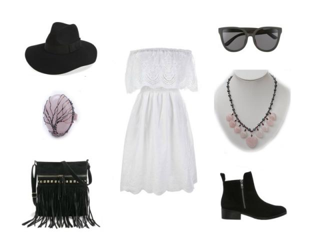 Outfit: Jednoduchý festivalový outfit