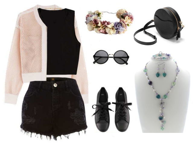 Outfit: Coachella festival outfit