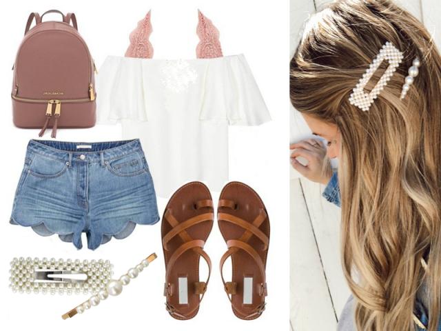 Outfit: Perličkové léto