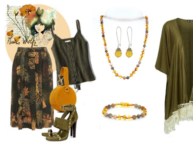 Outfit: Svěží podzimní žlutá