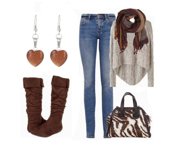 Outfit: Barvy podzimu