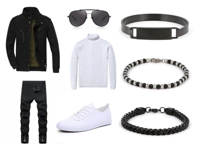 Outfit: Pohodlný sportovní pánský outfit