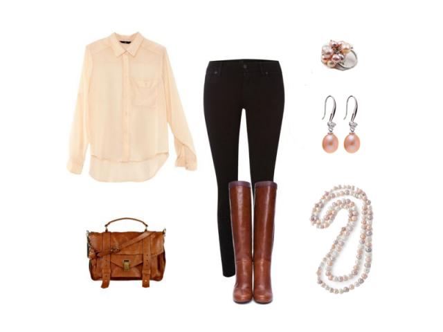 Outfit: Jarní romantika