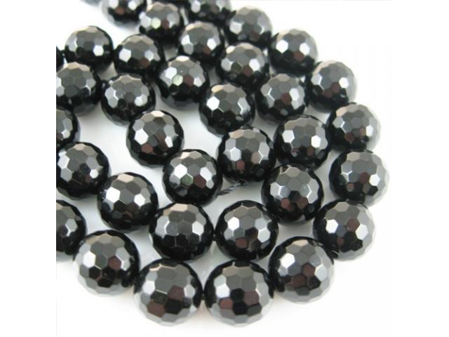 Onyx černý - broušený 6 mm