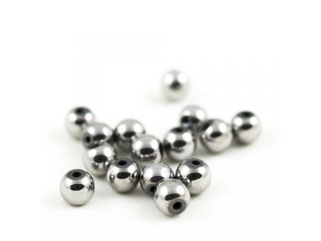 Hematit - stříbrný 8 mm