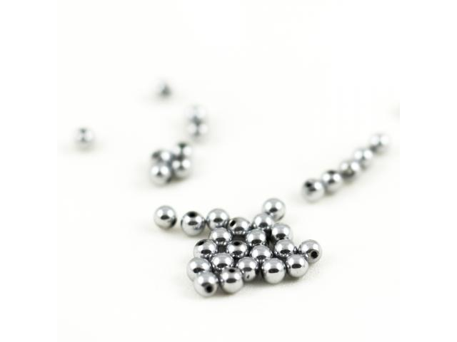 Hematit - stříbrný 4 mm