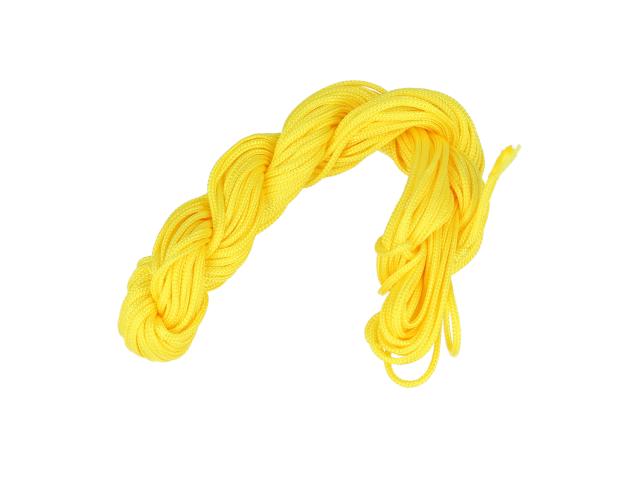 Šňůrka - žlutá 1 mm