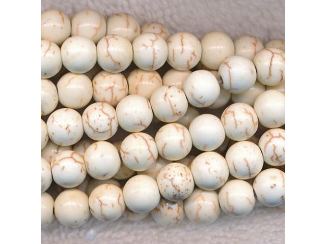 Bílý tyrkys 10 mm