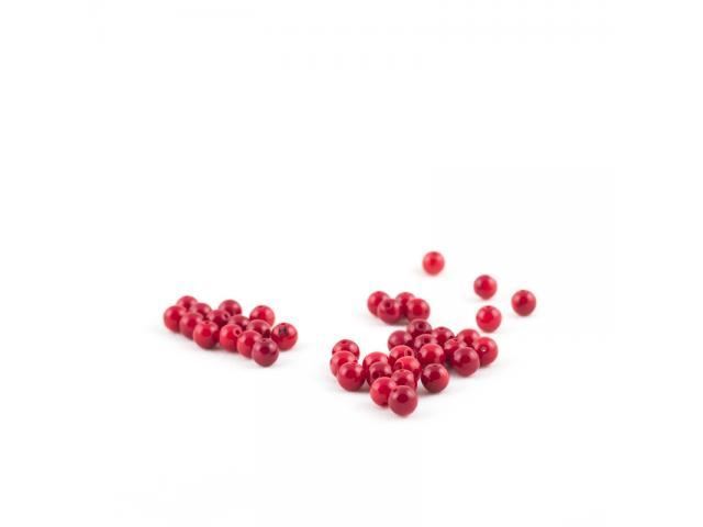 Červený korál 6 mm