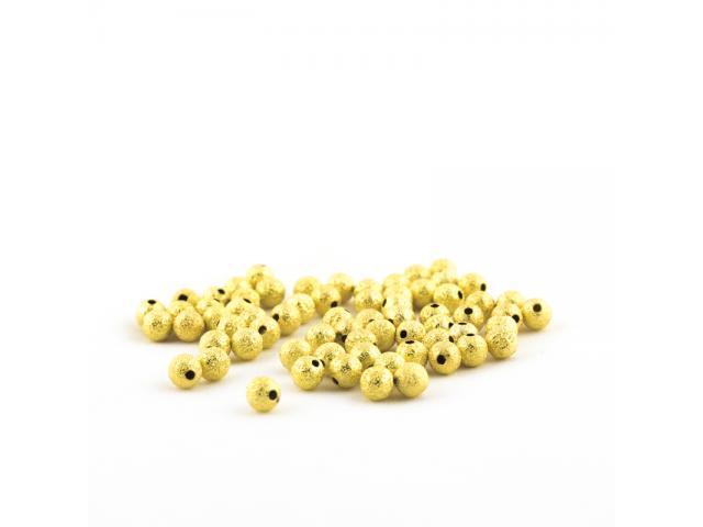 Zlatý hvězdný prach 6 mm