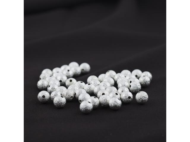 Stříbrný hvězdný prach 8 mm
