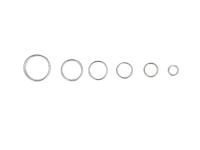 Box - spojovací kroužky dvojité 4-10mm