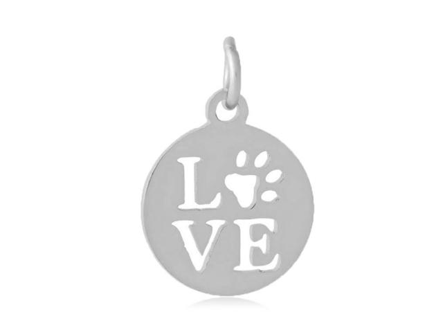 Přívěsek z chirurgické oceli - Pet Love
