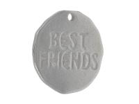 Přívěsek z chirurgické oceli Best friends