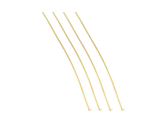 Ketlovací nýt 7cm - zlatá (bal. 10g, cca 30ks)