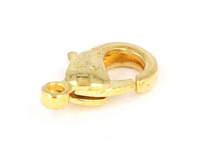 Karabinka 10x5x3mm - zlatá