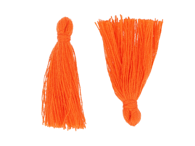 Střapec oranžový