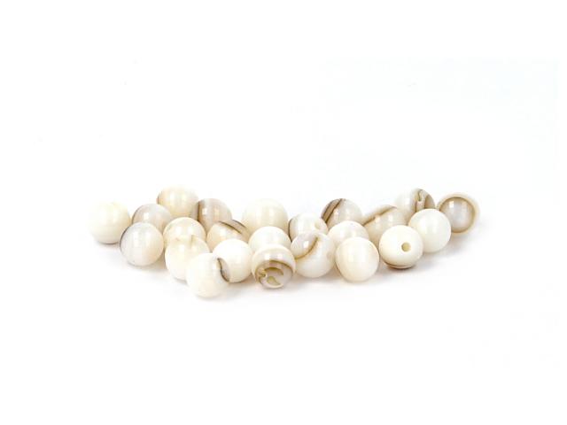 Hnědá perleť 6mm