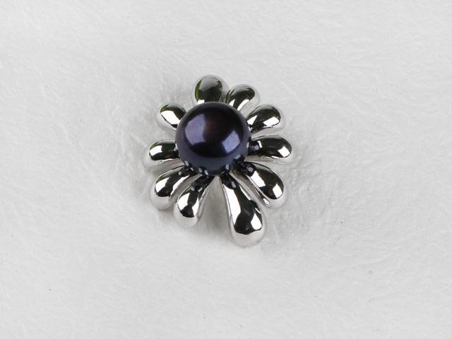 Přívěsek černá říční perla (bez řetízku)