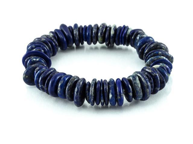 Diskový náramek lapis lazuli