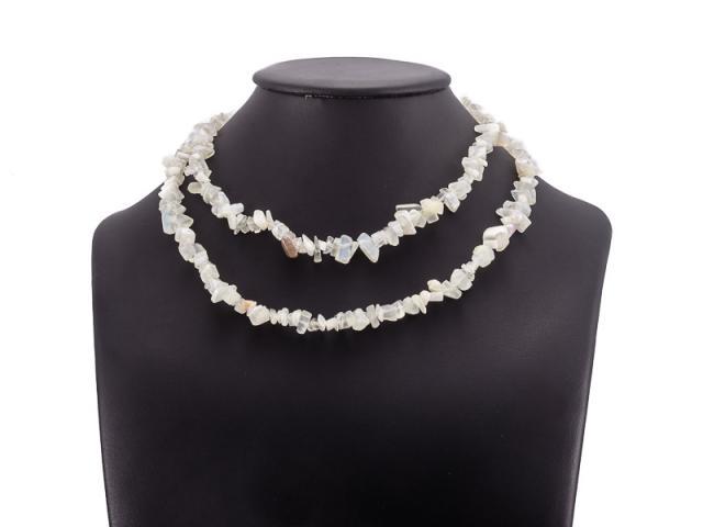 Sekaný náhrdelník měsíční kámen