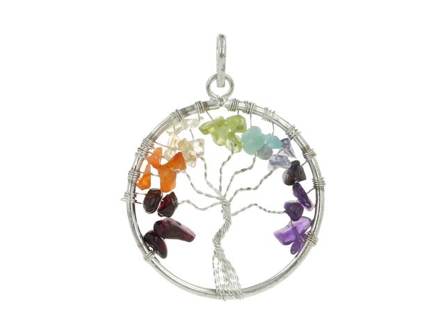 Prívěsek čakra - strom života