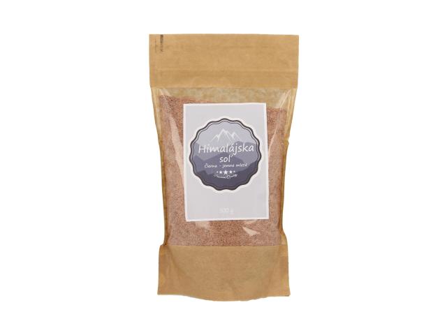 Černá himálajská sůl Kala Namak - jemně mletá 500g