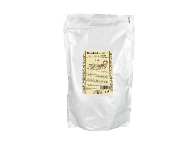 Pravá himálajská sůl růžová - jemně mletá 1kg