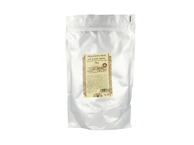 Pravá himálajská sůl bílá - jemně mletá 1kg