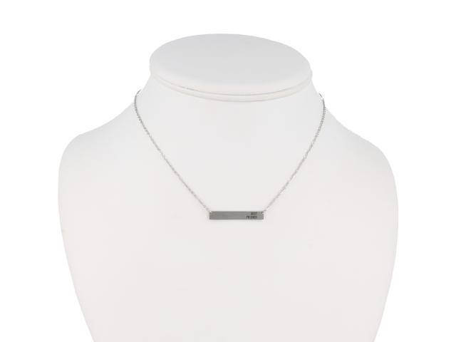 Ocelový náhrdelník Best friend
