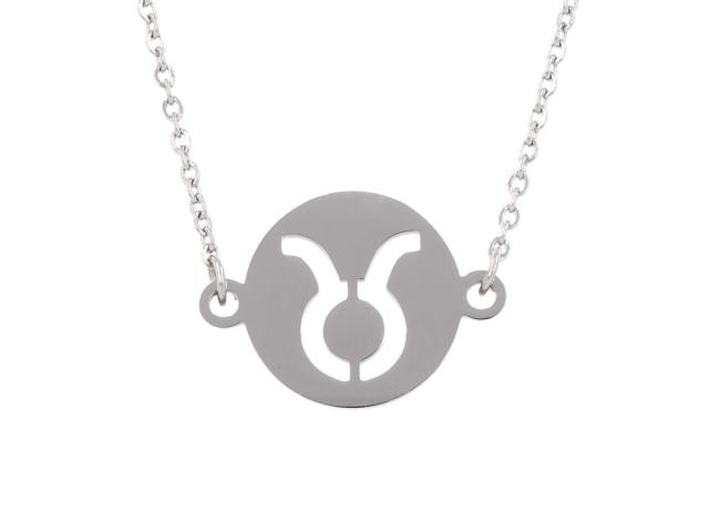 Ocelový náhrdelník - býk