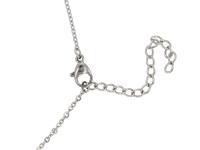 Ocelový náhrdelník - lev