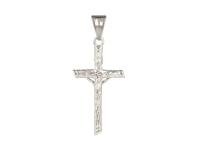 Ocelový přívěsek křížek