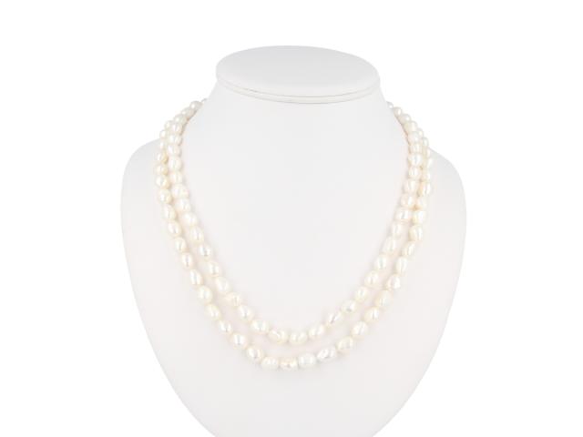 Dlouhý náhrdelník 12-13mm říční perly - 120 cm