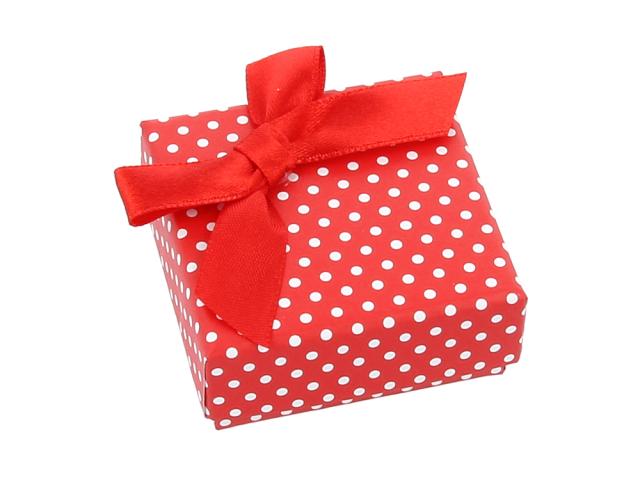 Dárková krabička Dotty 45x45x22 mm