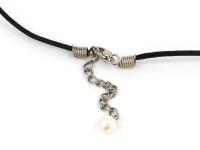 Náhrdelník opalit a bílé perly