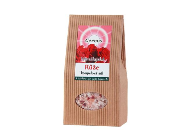 Koupelová sůl - Růže 500g