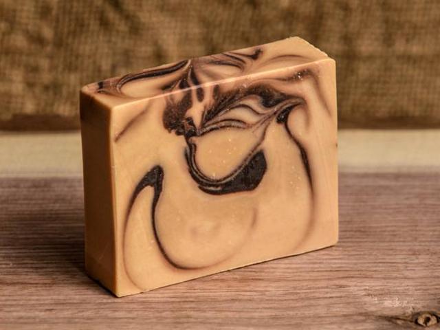 Čokoládové mýdlo s pomerančem a medem
