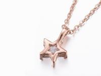 Ocelové náhrdelníky pro páry - hvězdy