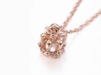 Ocelové náhrdelníky pro páry - koruny