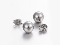 Ocelově-kožená souprava náhrdelník, náramek a náušnice - strom