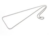 Ocelový řetízek - kuličková - 2,4mm - 60cm